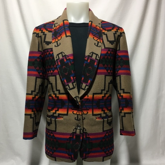 Pendleton Jackets & Blazers - Woman's Large Southwestern Pendleton Knockabouts